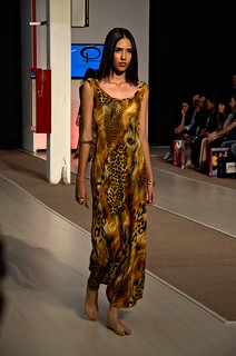 Animal print long dress - Intermoda Trends