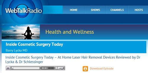 Dr. Joel Schlessinger discusses skin care devices on WebTalkRadio