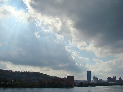 Allegheny River from Herr's Island - Oct. 4th 2013
