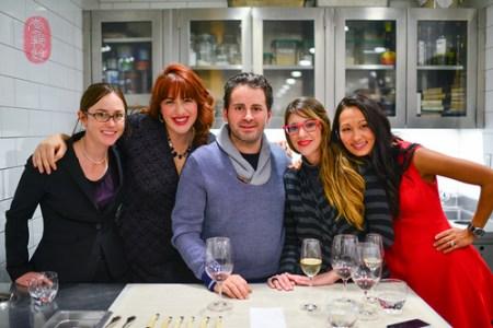 Brook Herrema, Heidi Brown, Matt Accarrino, Catherine Schimenti, and Martina Kostow
