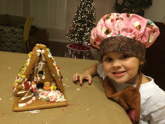 Annie's gingerbread house