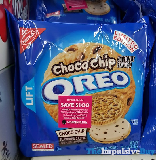 SPOTTED ON SHELVES: Limited Edition Choco Chip Oreo ...