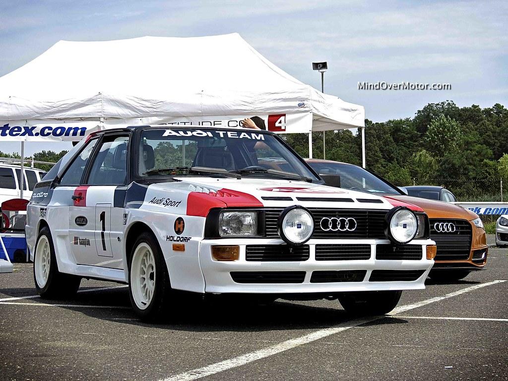 Audi Quattro Rally Car Replica