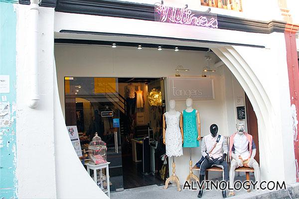 tangers - fashion apparel