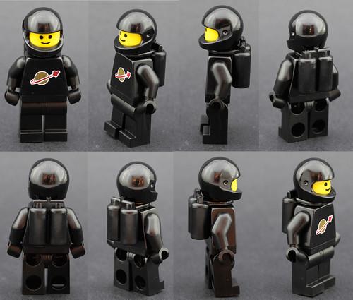 Vintage spaceman