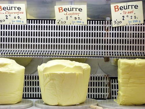 Beurre laitier - Marché des Batignolles
