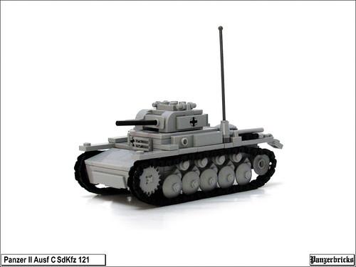 Panzer II Ausf C de Panzerbricks