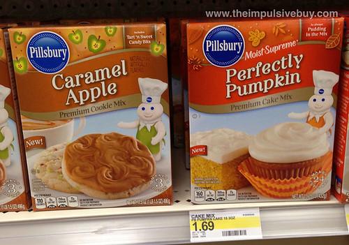 Pillsbury Caramel Apple and Perfectly Pumpkin Premium Cake Mixes