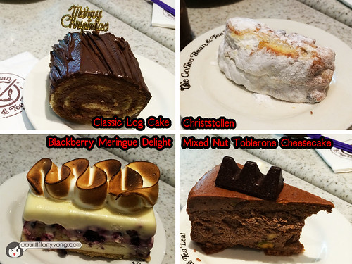 CBTL Christmas cakes