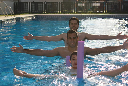 Oro en natación sincronizada
