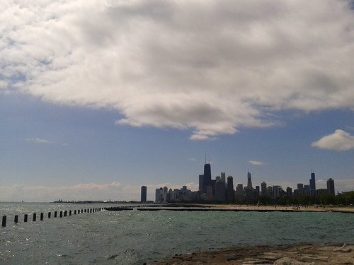 Chicago lakefront trail