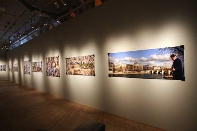 Geraldo Melo porträtterar städer.