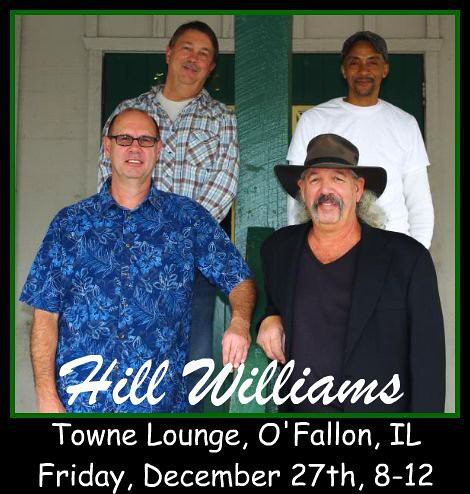 Hill Williams Band 12-27-13