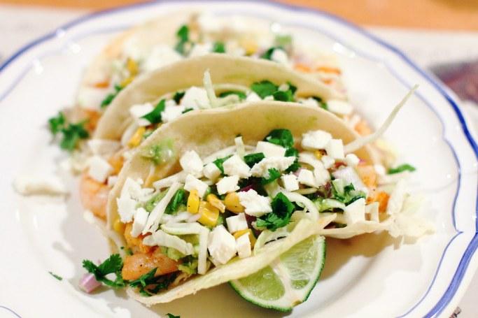 Sunday Dinner: Shrimp Tacos