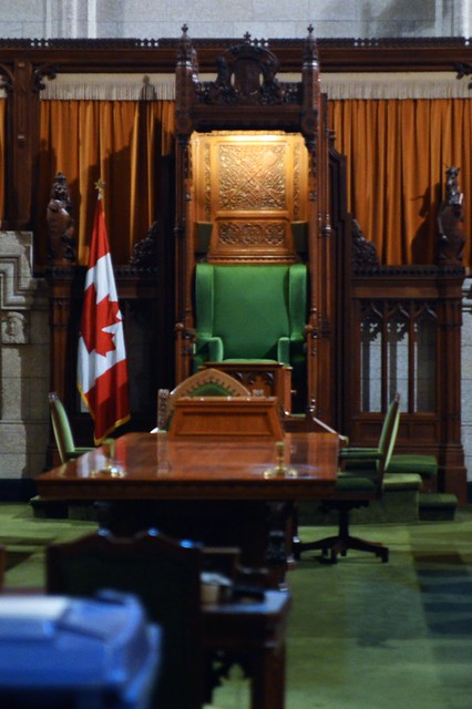 House of Commons, Speaker's Chair