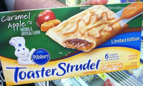 Pillsbury Limited Edition Caramel Apple Toaster Strudel