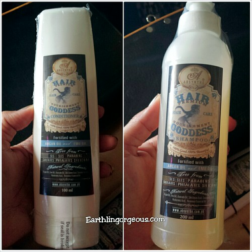 House of Absynthe Hair Goddess Shampoo and Conditiiner review