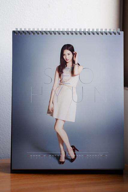 SNSD 2014 Calendar: Seohyun