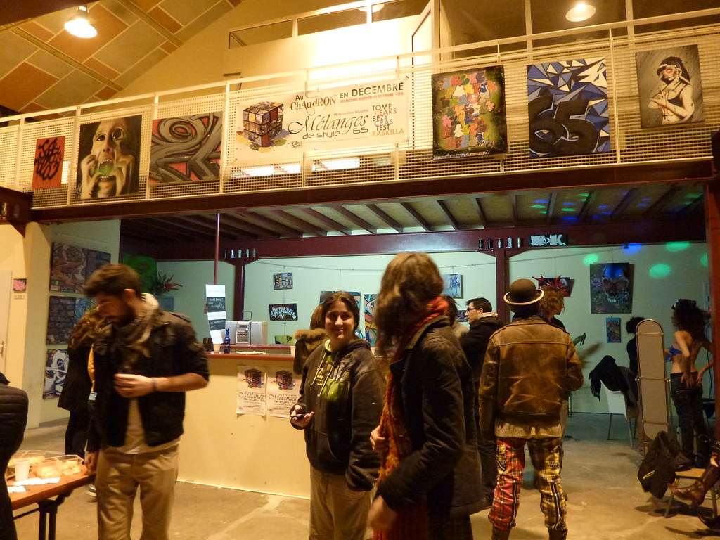 Expo graffiti Chaudron Tarbes