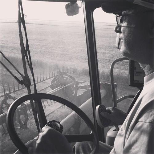 Z Crew: the combine driver