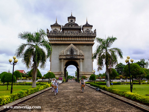 L'Arc del triomf de Vientiane