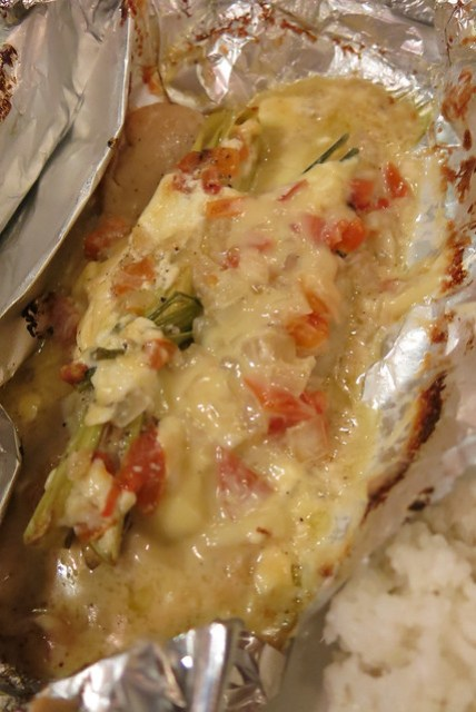 Baked Fish at Brickfire