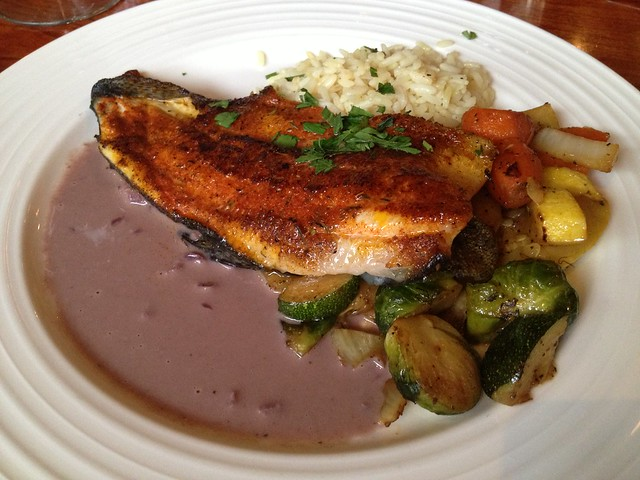 Blackened trout - Alamo Square Seafood Grill