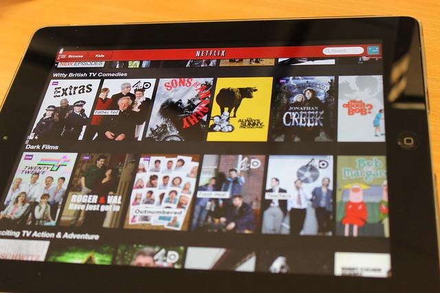 Netflix on iOS