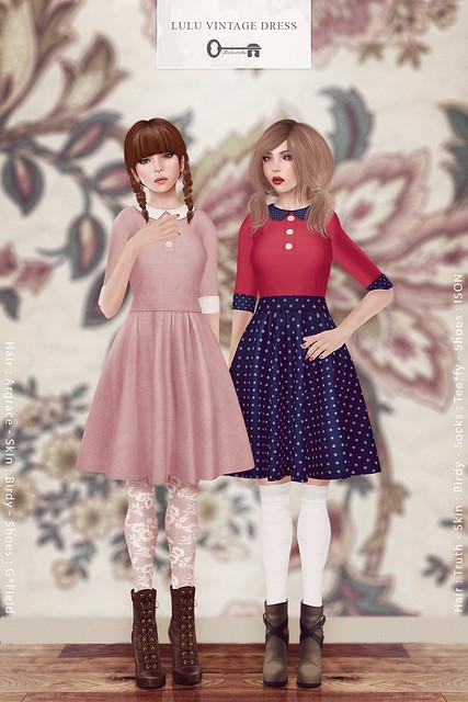 Lulu Vintage Dress