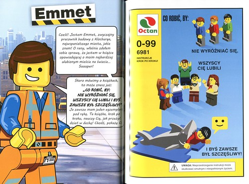 The LEGO Movie Życie jest Czadowe skan Emmet