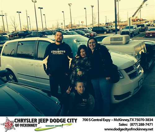 Thank you to Susan  Rector on your new 2010 #Dodge #Grand Caravan from Dale Graham Graham and everyone at Dodge City of McKinney! by Dodge City McKinney Texas