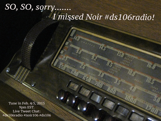 I'm Sorry Noir DS106Radio