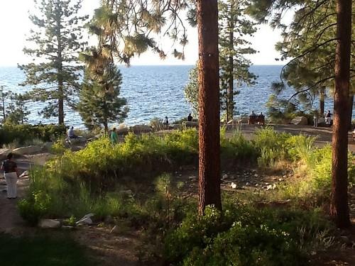 Lake Tahoe  -- Zephyr Point