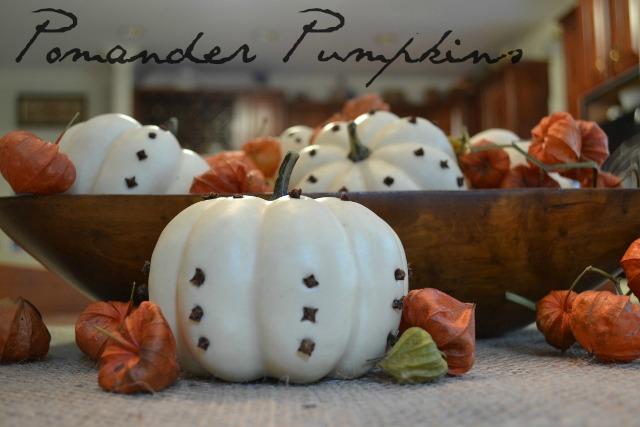 pumpkin pomander