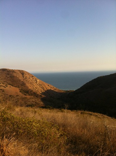 Pacific View from Solstice Canyon