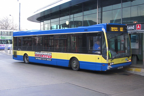 Optare Excel, JPT Travel, S928 LBL, Middleton Bus Station