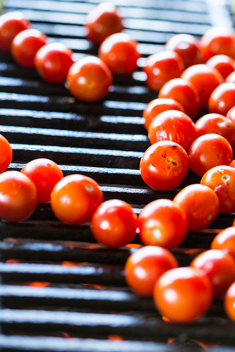 grilling cherry tomatoes