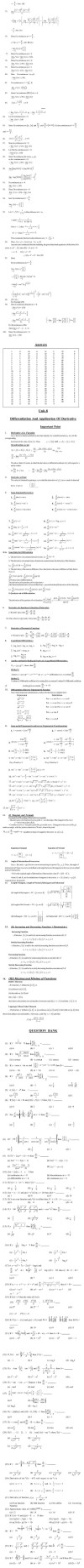 JEE Question Bank Maths - Limit & Continuity