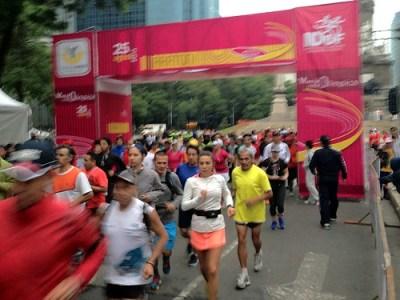 Primer entrenamiento Maraton de la Ciudad de México 2013