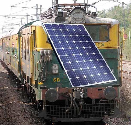 Indian Railways Solar Project