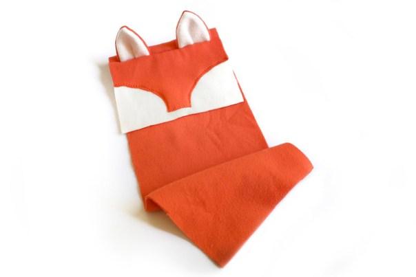 The fox iPad sewing project so far