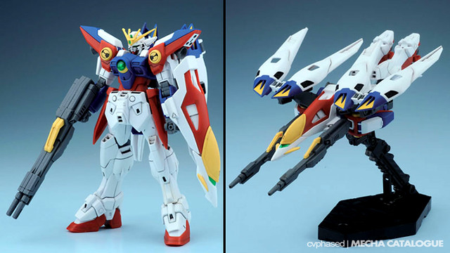 HGAC Wing Gundam Zero - Colored Prototype Shots
