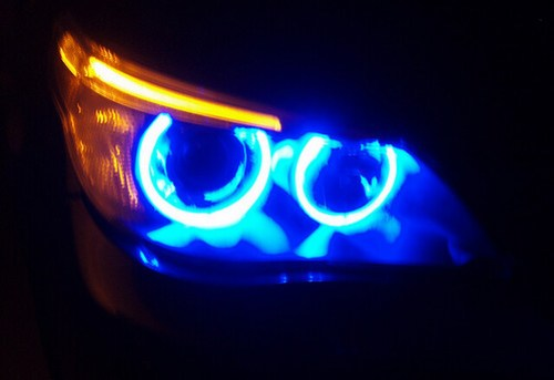 Angel Eyes: Modernas Luces LED con Look de BMW