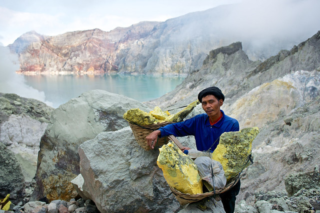 Ijen Sulfur Mine