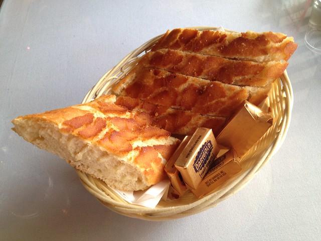 Dutch crunch bread - Curbside Cafe