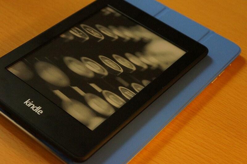 Kindle and iPad mini2