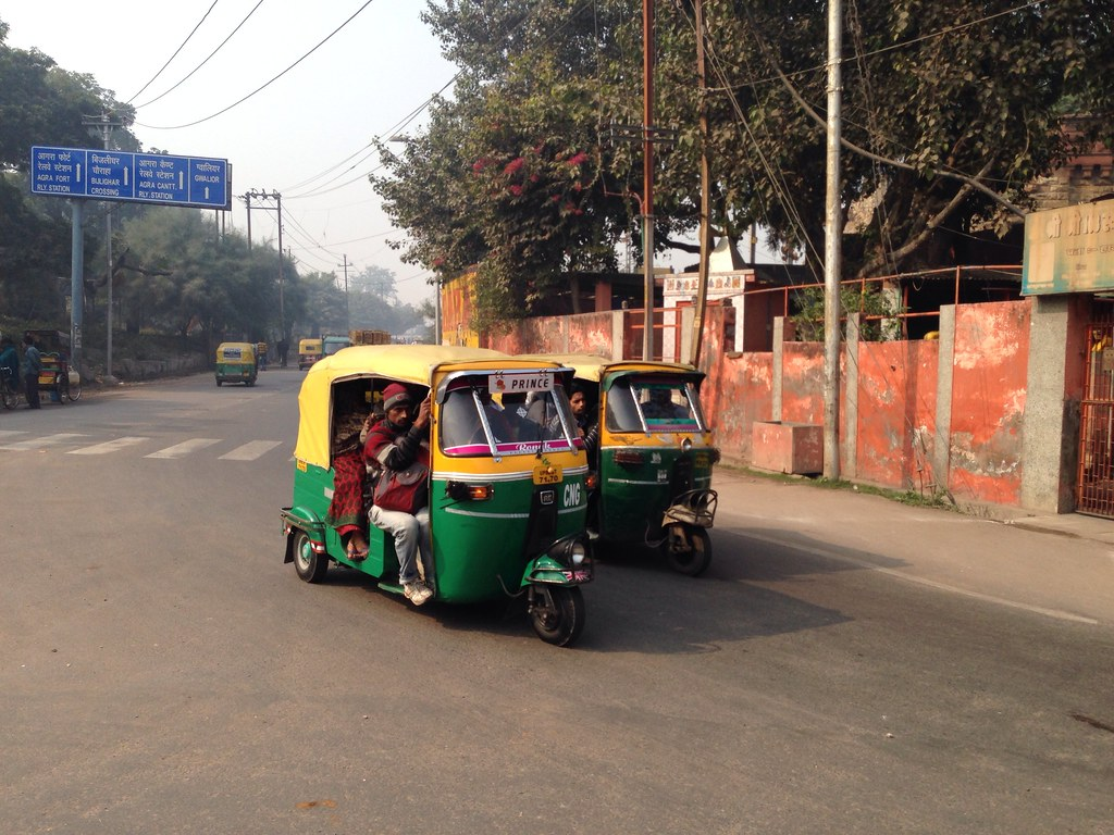 Motorized Tuk-tuk in Agra
