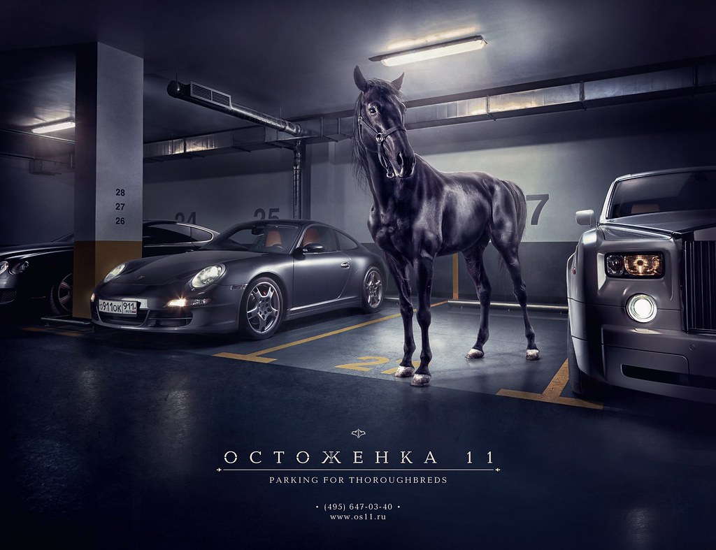 Ostozhenka - Horse Parking