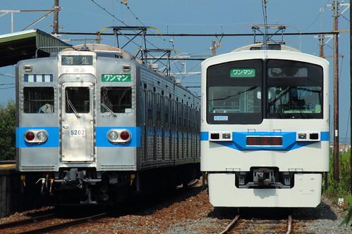 6002Fと5002F @武州荒木