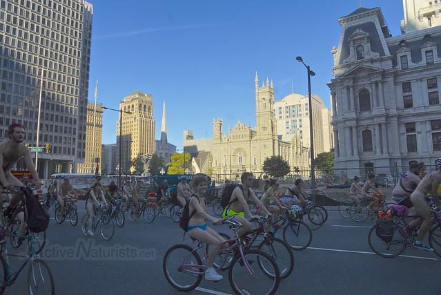 naturist 0069 Philly Naked Bike Ride, Philadelphia, PA USA